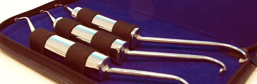 set di fibrolisori per fibrolisi diacutanea