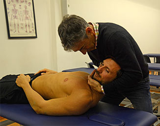 Marco Barbero manipolazione cervicale