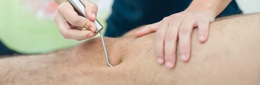 fibrolisi ginocchio
